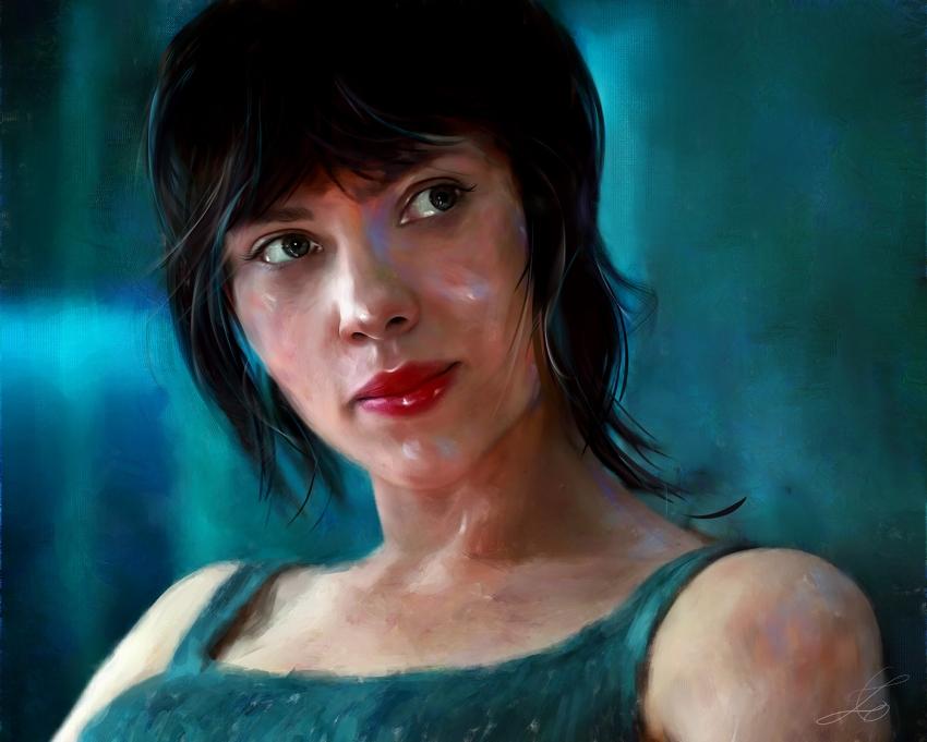 Scarlett Johansson par z6ig